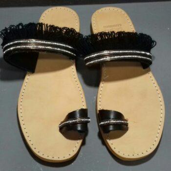 sandals_black_gold