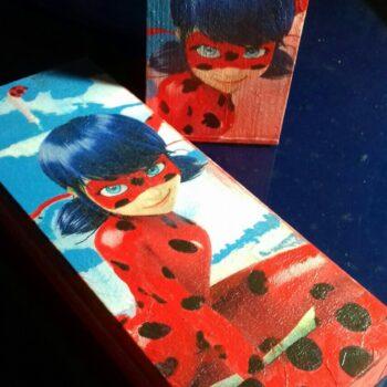 Ξύλινο Σετ Ladybug