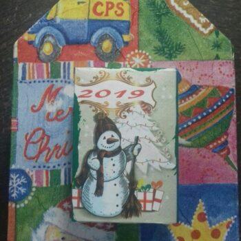 Ξύλινο Ημερολόγιο Χριστουγεννιάτικα Παιχνίδια