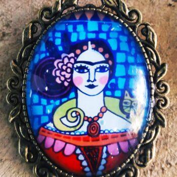 Καρφίτσα Frida